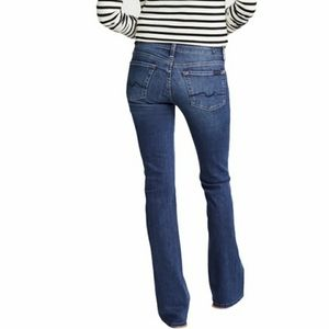 7 For All Mankind Skinny Bootcut 27